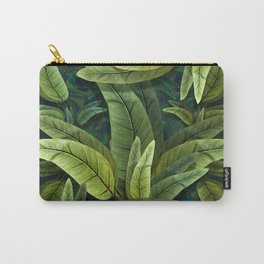 """Retro Tropical Tiki Fantasy 02"" Carry-All Pouch"