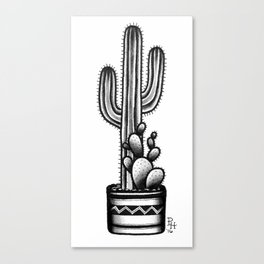 Cactus Club Canvas Print