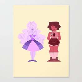 Iris and Rowena Canvas Print