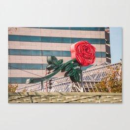 Rose City Canvas Print