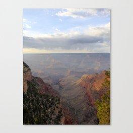 Rain over the Canyon Canvas Print