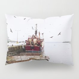 Fishing boat Pillow Sham