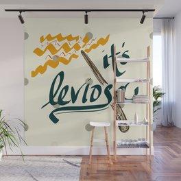 It's Leviosa Magic Wand Design Wall Mural