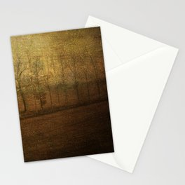 The upside world Stationery Cards