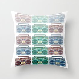 """""""I CAN'T LIVE WITHOUT MY RADIO"""" Throw Pillow"""