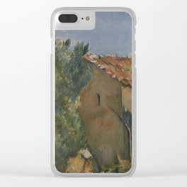 Abandoned House near Aix-en-Provence Clear iPhone Case