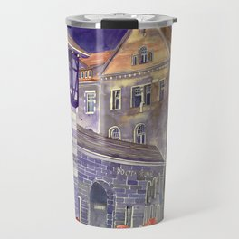 street in Poznan part 1 Travel Mug