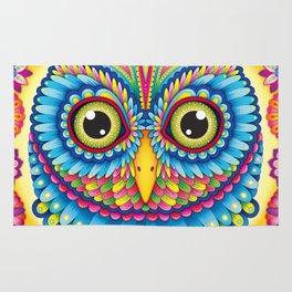 Tropicalia Owl Art Rug
