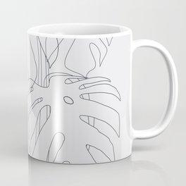 Monstera Illustration Coffee Mug