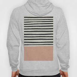Peach x Stripes Hoody