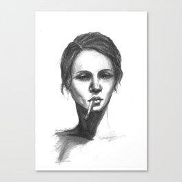 Sunday Face Canvas Print