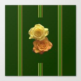 Season of the Flower - Rose Duet Canvas Print