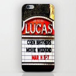 Lucas Theater iPhone Skin