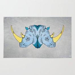 Double Trouble - Rhino Rug
