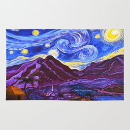 Maui Starry Night Rug