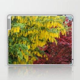 Warm comforting autumn trees Laptop & iPad Skin