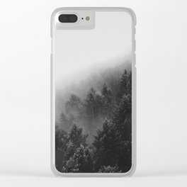 Misty Forest II Clear iPhone Case