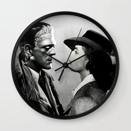 FRANKENSTEIN IN CASABLANCA Wall Clock