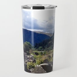 Glendalough, Ireland Travel Mug