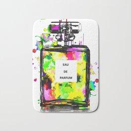 Colorful Perfume Bath Mat