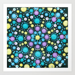 Dot Mandala Art Prints | Society6