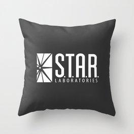 star lab Throw Pillow