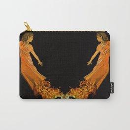 Fire Dancer - Muertos Series Carry-All Pouch