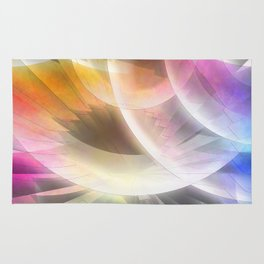 Multicolored abstract no. 60 Rug