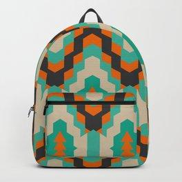 Ethnic winter pattern II Backpack