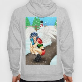 Morigan: Snow Angel Hoody