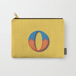 The Letter O Carry-All Pouch
