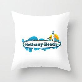 Bethany Beach - Delaware. Throw Pillow