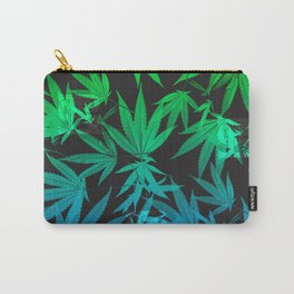 Leafy Blues Royal Stain Carry-All Pouch