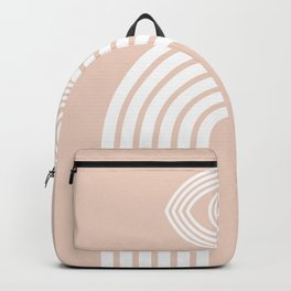 Abstraction_EYE_LINES_Minimalism_001 Backpack