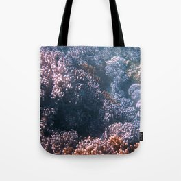 Soft Corals, Great Barrier Reef Tote Bag