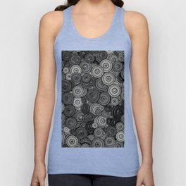 Heavy iron / 3D render of hundreds of heavy weight plates Unisex Tank Top