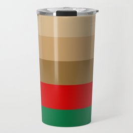 Coffee Irish Flavored Liqueur with Cream - Abstract Travel Mug