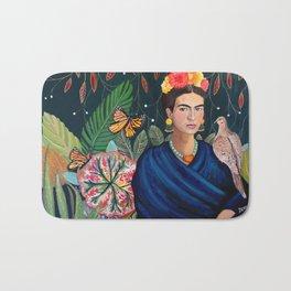 Frida et sa nature vivante Bath Mat