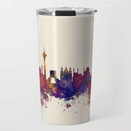 Tehran Iran Skyline Travel Mug