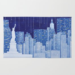 New York, Statue of Liberty Rug