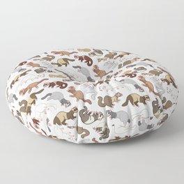 Furry Friends Floor Pillow