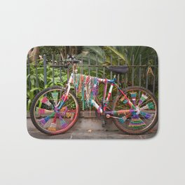Bead Bike Bath Mat