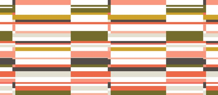 Brick House - multicolor stripe pattern Coffee Mug