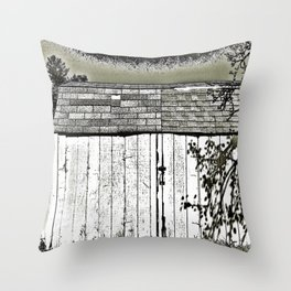 WHAT'S IN THE SHED! Throw Pillow