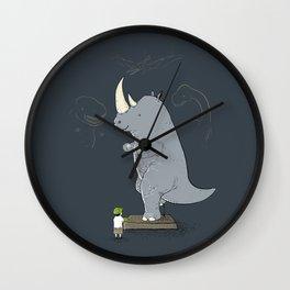The Rhinosaurus Wall Clock