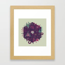 Die of Death Framed Art Print