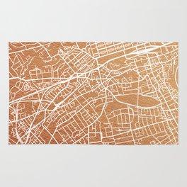 Edinburgh map Rug