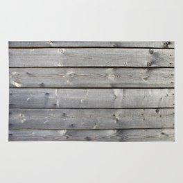 old wooden planks background Rug