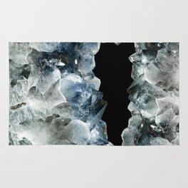 Blue Crystal Photography   Earthy   Precious Stone Rug