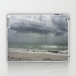 Lake Michigan storm Laptop & iPad Skin